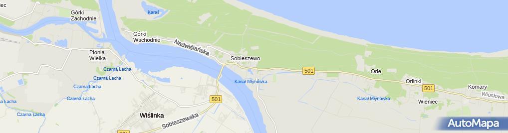 Zdjęcie satelitarne Dom Pomocy Społecznej Sióstr Pallotynek