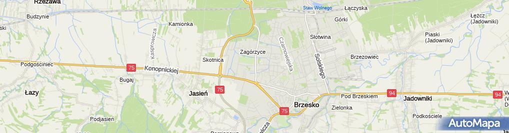 Zdjęcie satelitarne Kobyłecki Elektroinstalacje