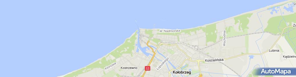 Zdjęcie satelitarne Sanatorium MSWiA ZOZ