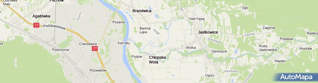 Zdjęcie satelitarne Karczma Zacisze