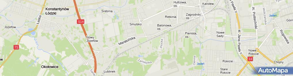 Zdjęcie satelitarne Kia