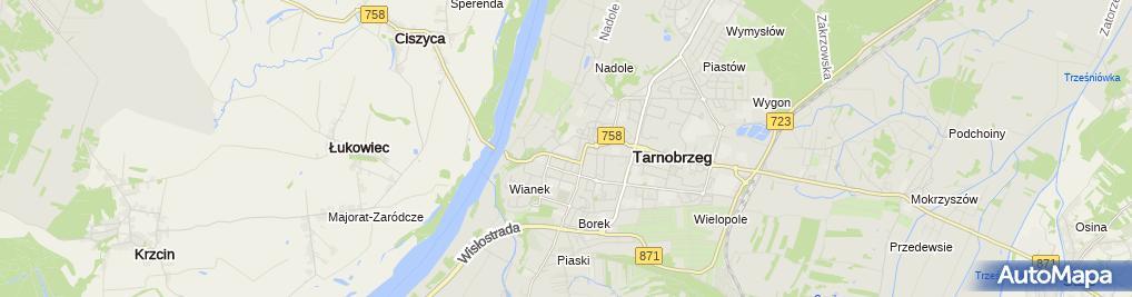 Zdjęcie satelitarne LO im. Mikołaja Kopernika