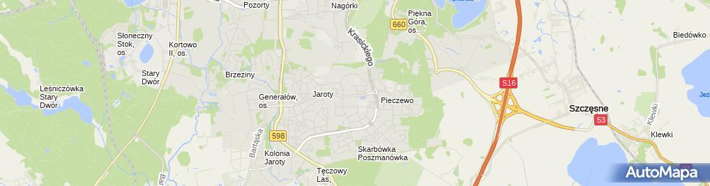 Zdjęcie satelitarne Salon Meblowy Elżbieta