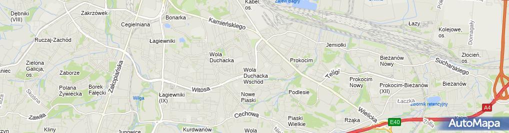 Zdjęcie satelitarne Hurtownia Motoryzacyjna