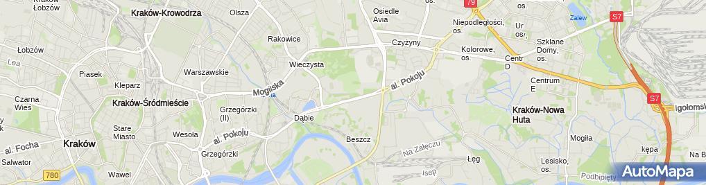 Zdjęcie satelitarne Ogród Doświadczeń im. Stanisława Lema