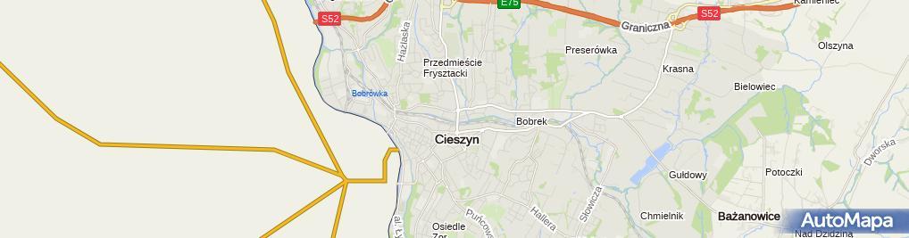 Zdjęcie satelitarne Sekcja Obsługi Ubezpieczonych - Śląski NFZ