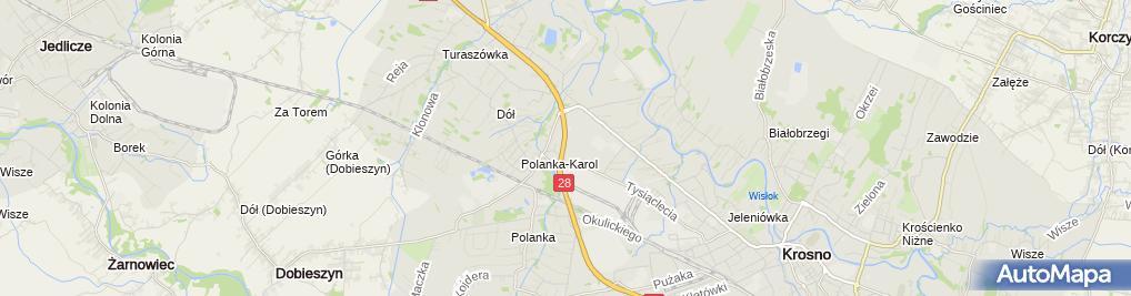 Zdjęcie satelitarne Salon, Serwis Opel