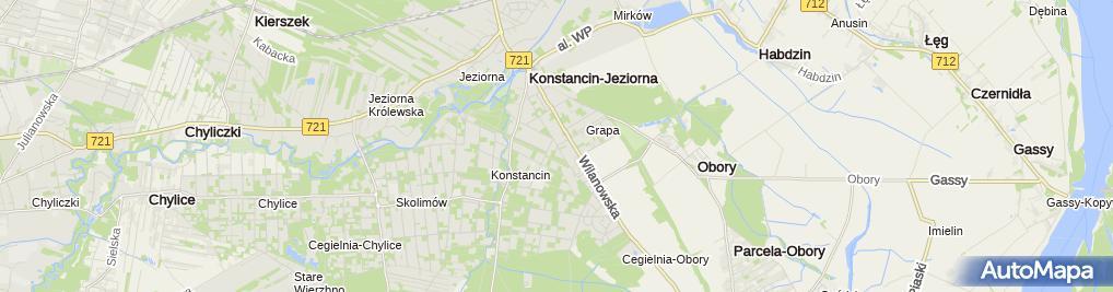 Zdjęcie satelitarne Biała Dalia