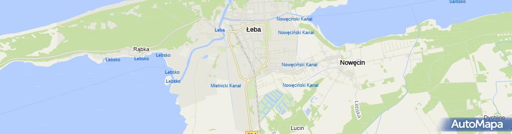 Zdjęcie satelitarne Pokoje gościnne Barambas Władysław