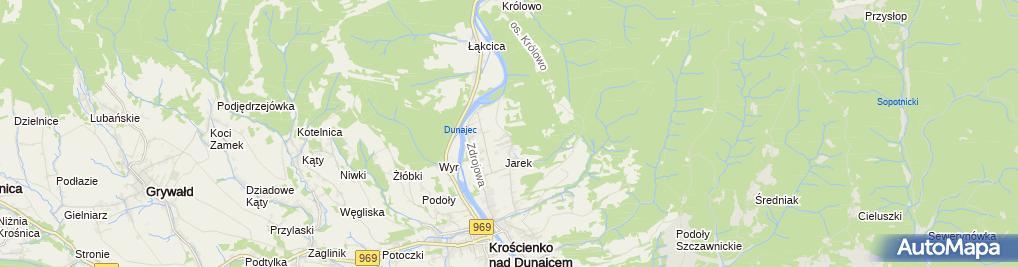 Zdjęcie satelitarne Zofia Homińska
