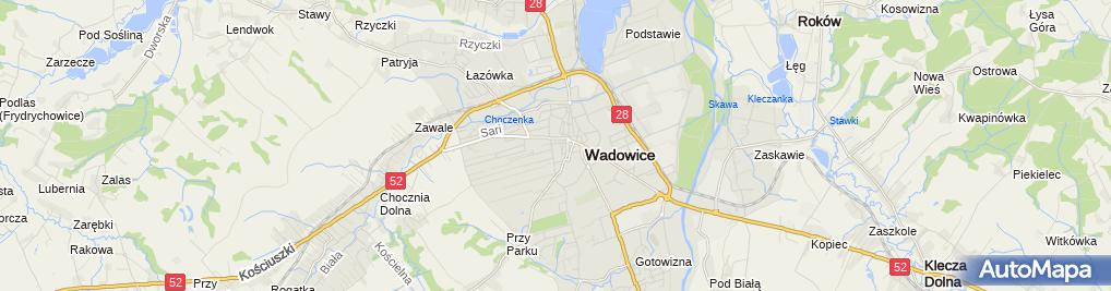 Zdjęcie satelitarne Prokuratura Rejonowa