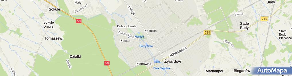 Zdjęcie satelitarne Życie Żyrardowa Tygodnik