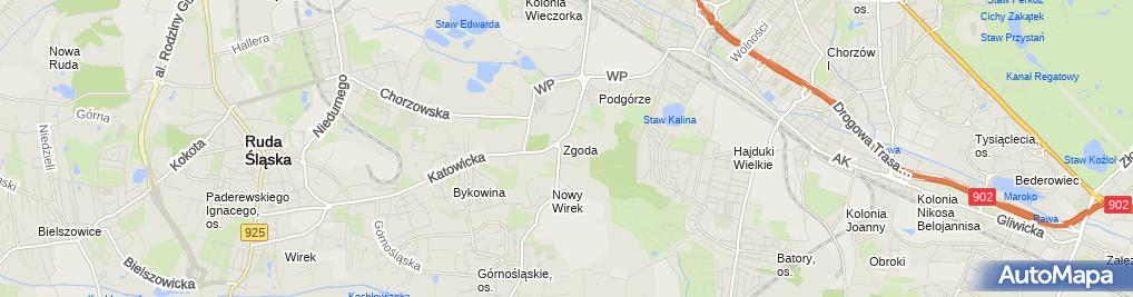 Zdjęcie satelitarne Skład budowlany PSB