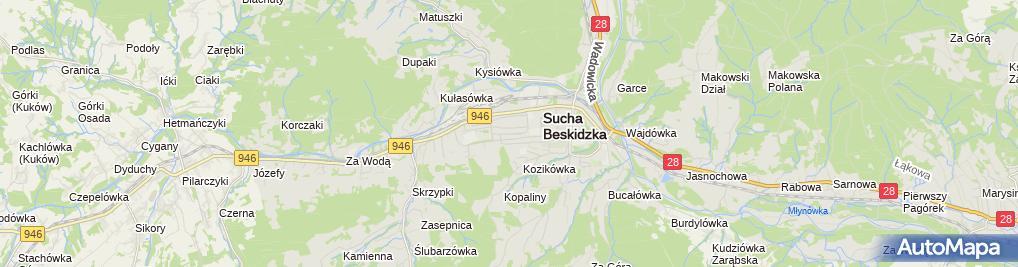 Zdjęcie satelitarne PZU