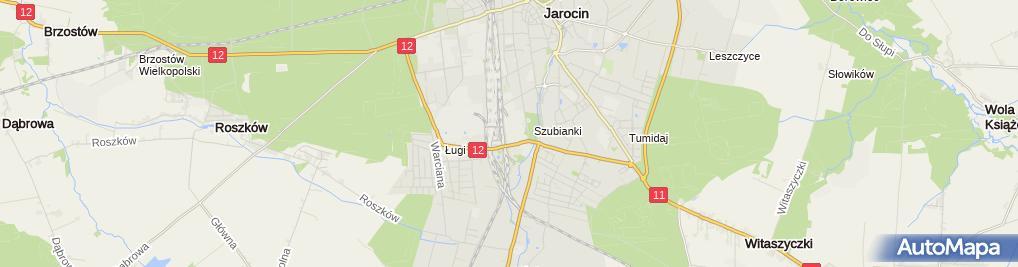 Zdjęcie satelitarne Wysocka-Balcerek Małgorzata. Myjnia Samochodowa