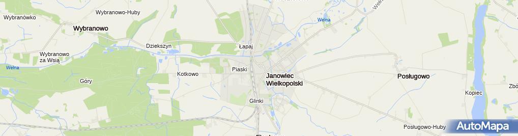 Zdjęcie satelitarne św. Mikołaja