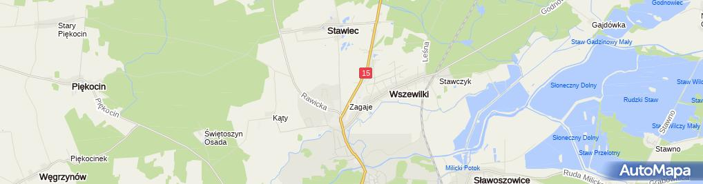 Zdjęcie satelitarne Kaskada