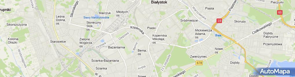 Zdjęcie satelitarne Koloseum