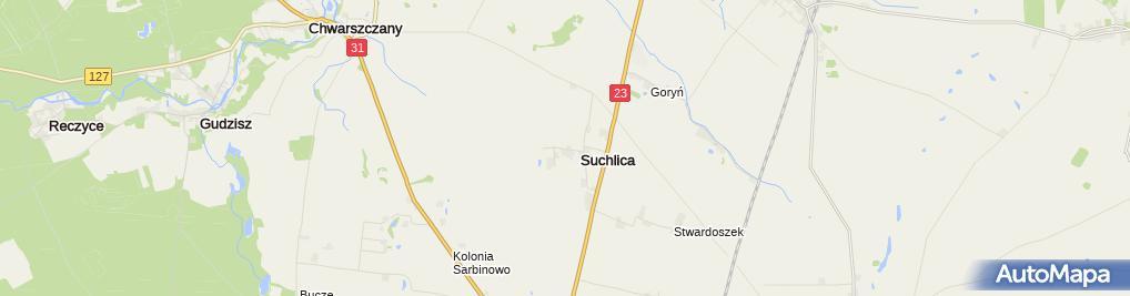 Zdjęcie satelitarne Centrum Pszczelarskie Łukasiewicz