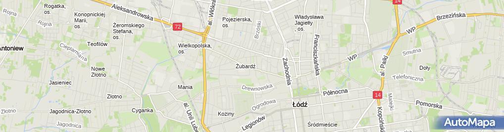 Zdjęcie satelitarne Spółdzielnia mieszkaniowa
