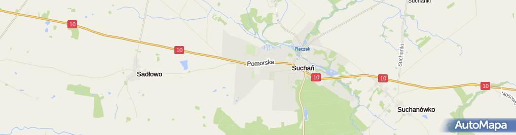 Zdjęcie satelitarne im. Janusza Kusocińskiego