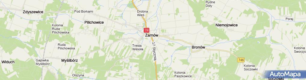 Zdjęcie satelitarne w ZSZ