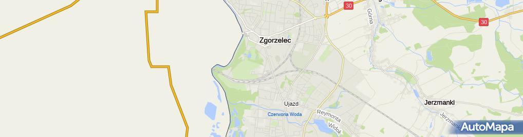 Zdjęcie satelitarne Zespół Szkół Zawodowych i Licealnych