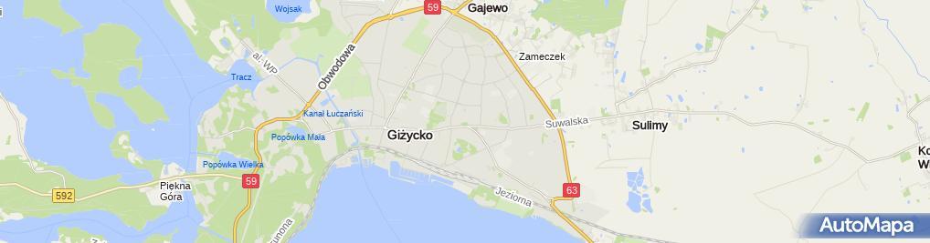 Zdjęcie satelitarne Szpital SP ZOZ