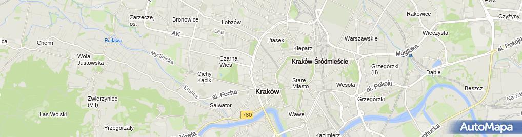 Zdjęcie satelitarne Szpital Specjalistyczny im. Józefa Dietla
