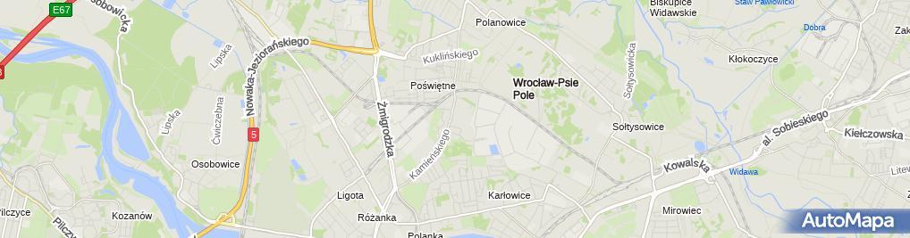 Zdjęcie satelitarne Wojewódzki Szpital Specjalistyczny