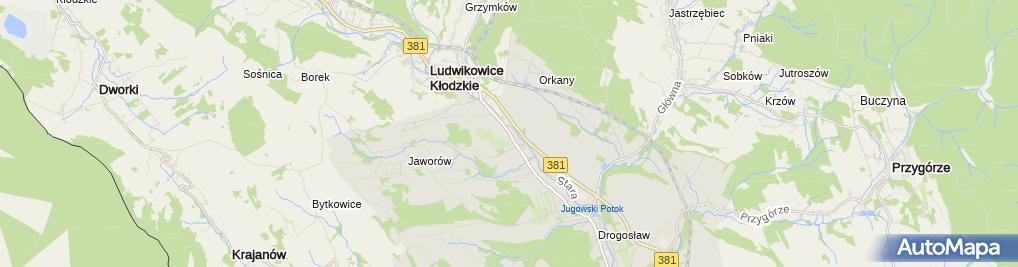 Zdjęcie satelitarne Szrot - Auto Części Używane