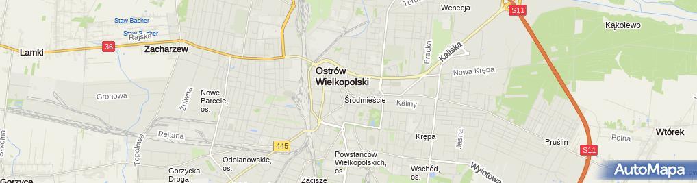 Zdjęcie satelitarne Optyk