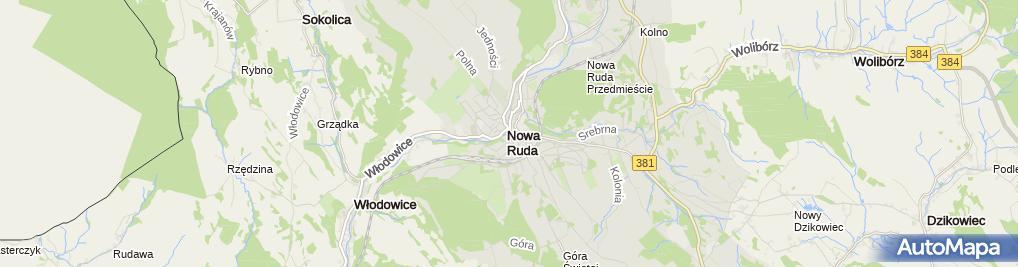 Zdjęcie satelitarne ZUS Biuro Terenowe