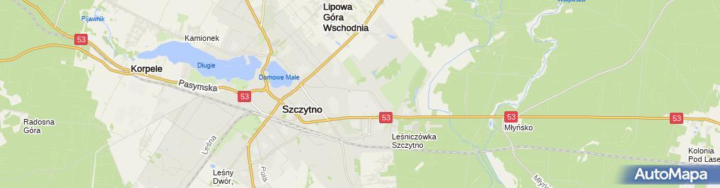 Zdjęcie satelitarne Campus in WSPol