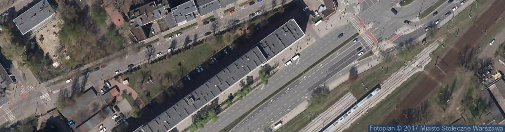 Zdjęcie satelitarne Wileńska