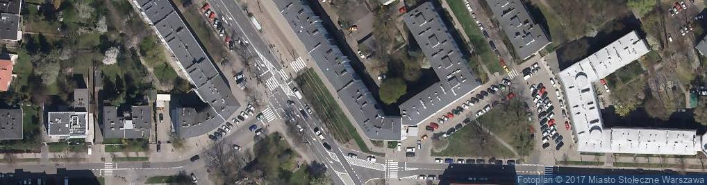 Zdjęcie satelitarne Cukiernia u Jabłonowskich