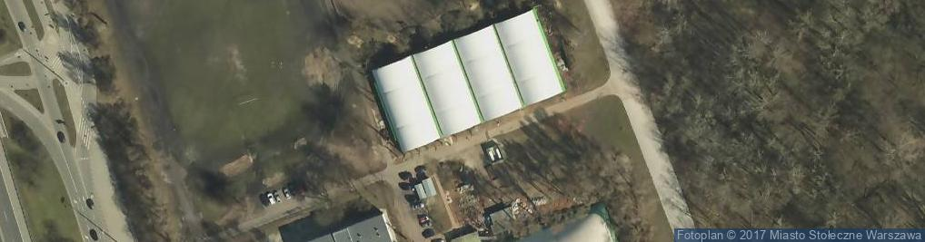 Zdjęcie satelitarne KS Spójnia