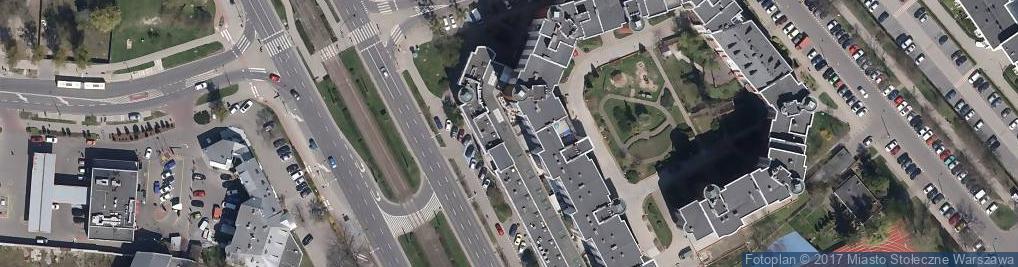 Zdjęcie satelitarne CM LUX MED