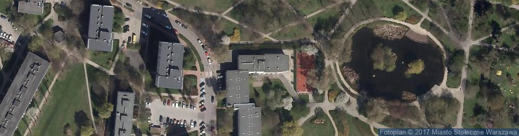 Zdjęcie satelitarne Dom Kultury Rakowiec