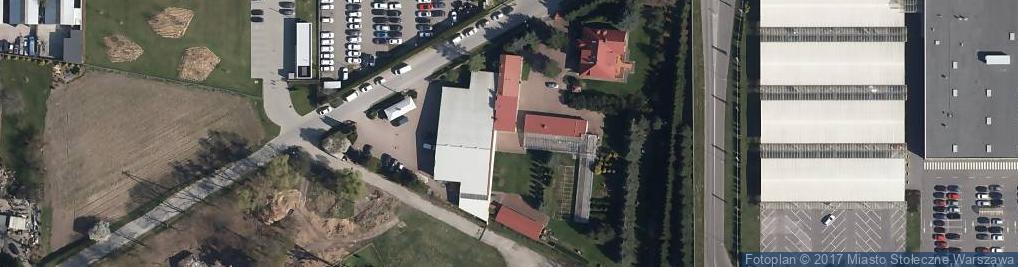 Zdjęcie satelitarne Instalsan E.M. Kalisz Sp. J.