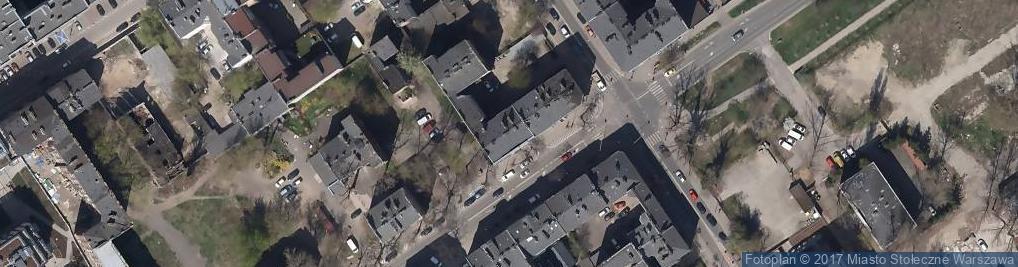 Zdjęcie satelitarne Tesco Hipermarket