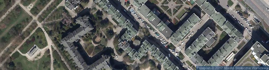 Zdjęcie satelitarne Centrum Medyczne Corten Medic