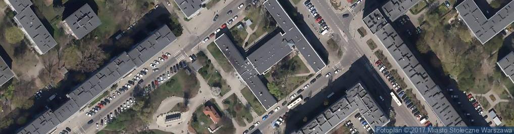 Zdjęcie satelitarne Poradnia Rodzinna