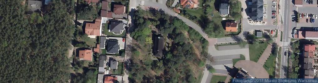 Zdjęcie satelitarne Najświętszego Serca Pana Jezusa