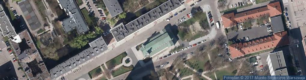 Zdjęcie satelitarne św. Andrzeja Apostoła