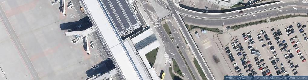 Zdjęcie satelitarne Warszawa Lotnisko Fryderyka Chopina (Okęcie)