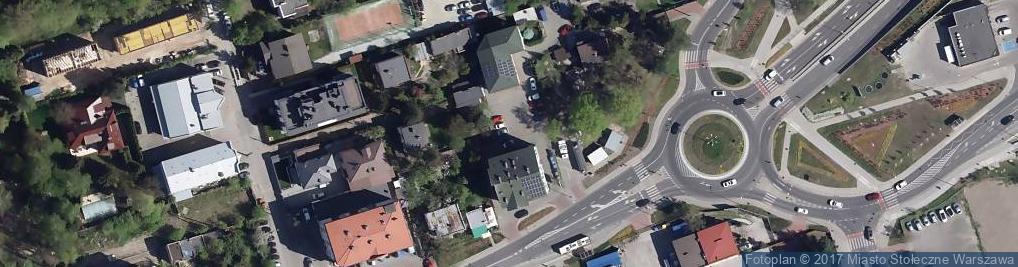 Zdjęcie satelitarne Przychodnia dla zwierząt