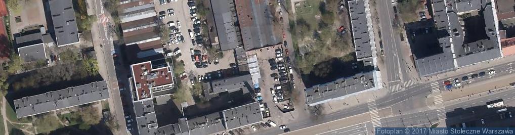 Zdjęcie satelitarne Auto Kółko