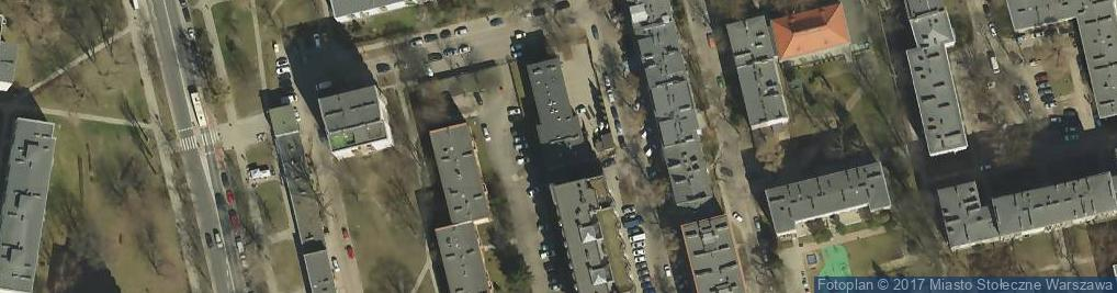 Zdjęcie satelitarne RWE Polska COK Wola-Bemowo