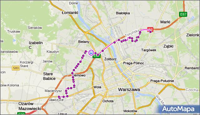 Rozkład jazdy autobusu 112 na przystanku PERZYŃSKIEGO 01. ZTM Warszawa na mapie Targeo